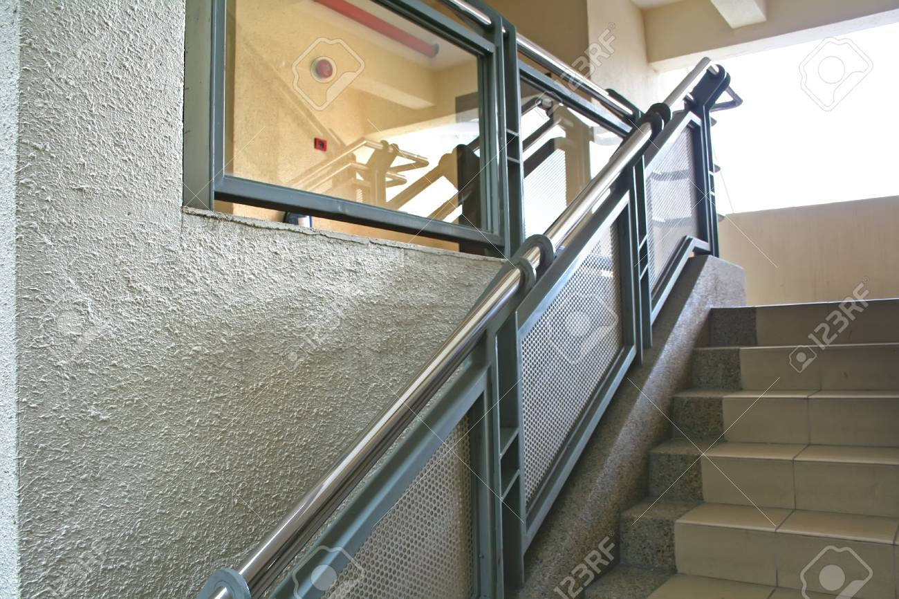 Modern Glass And Steel Staircase Reflective Stock Photo Picture   Steel And Glass Staircase   Living   Wood   Contemporary   Old House   Glass Design Golden