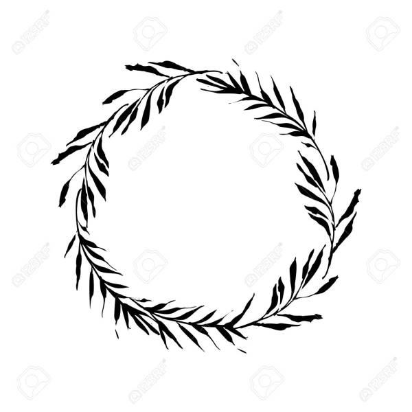 wreath template # 6