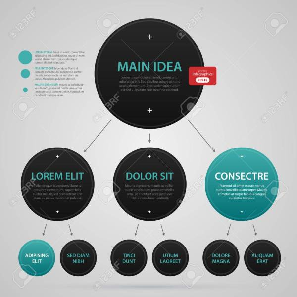 Modern Web Design Template With Complex Organization Chart  Strict     Modern web design template with complex organization chart  Strict  corporate business style  Useful for