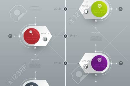 Vector Infographics Timeline Design Template With Label Design     Vector   Vector infographics timeline design template with label design and  icons  5 options or steps  Can be used for content  business  infographic
