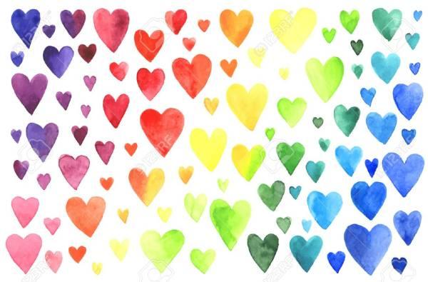 hearts colors # 3