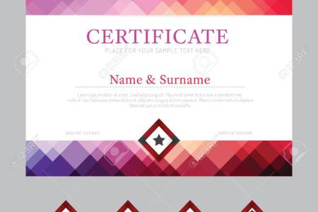 Resume templates 2018 retro frame certificate appreciation design resume templates retro frame certificate appreciation design template stock vector yadclub Image collections