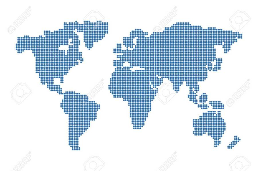 World map dots vector 4k pictures 4k pictures full hq wallpaper psd files free download dotted world map dotted world map vector download free vector art stock graphics abstract mash line and point scales on hexagon gumiabroncs Choice Image