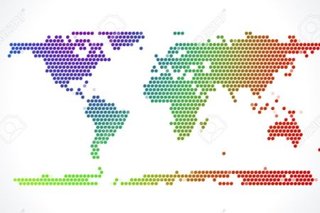 Map dots edi maps full hd maps dot map stock illustration illustration of continents dot map world map dots template vector free download world map dots template free vector florida map gumiabroncs Image collections