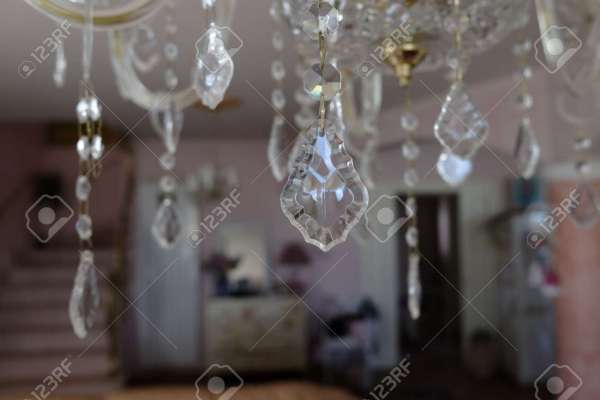 crystal chandelier drops # 10