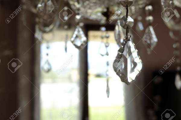 crystal chandelier drops # 13