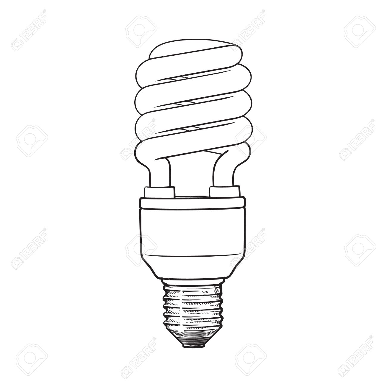 Energy efficient light bulbs clipart presentation agenda exles