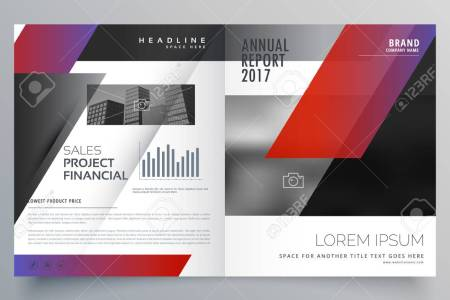 Professional Business Magazine Design Or Bifold Brochure Template     professional business magazine design or bifold brochure template vector  Stock Vector   75399475