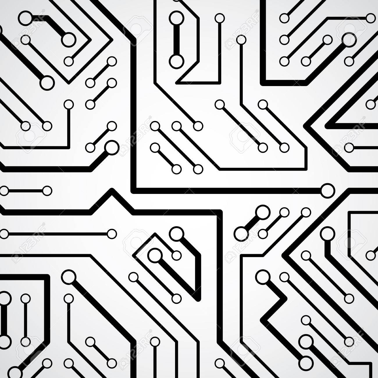 Circuit board futuristic cyber ic texture information