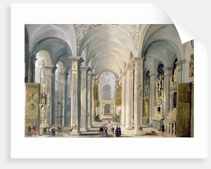 Interior of a Church posters   prints by Francois de Nome Interior of a Church by Francois de Nome