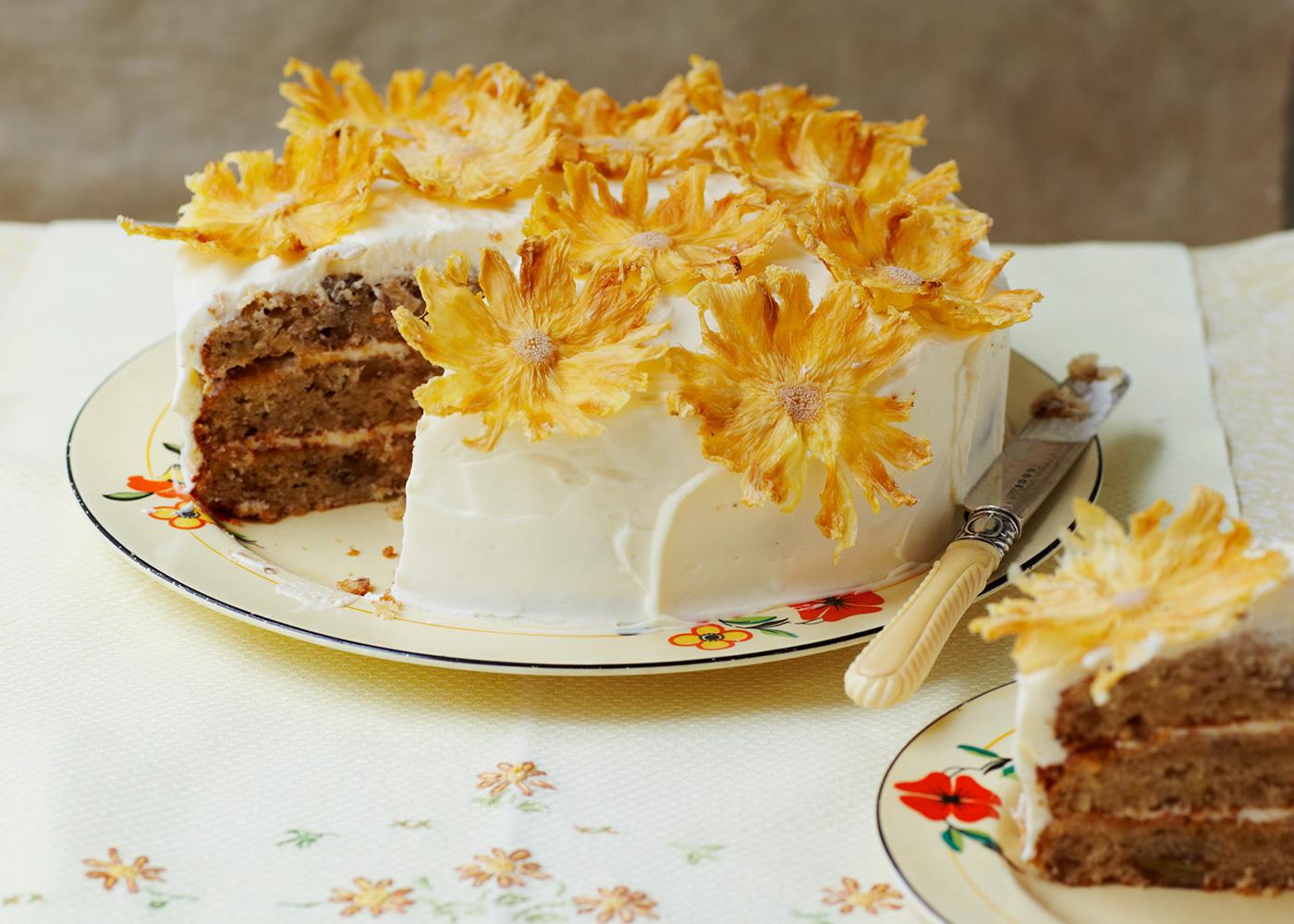 Hummingbird Cake Recipe How To Make Pineapple And Banana