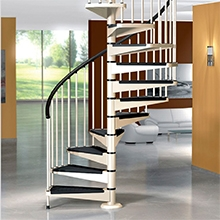Decorative Wrought Iron Spiral Staircase | Used Spiral Staircase For Sale | Vertical | Exterior | Contemporary | Wrought Iron | Curved