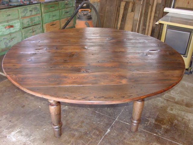 Rustic Farmhouse Dining Table Bench