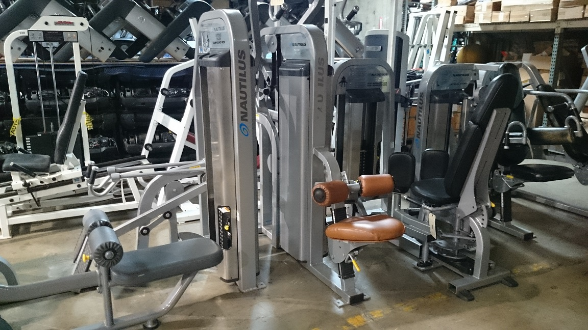 Nautilus Nitro Plus Strength Line Silver Frame Primo Fitness
