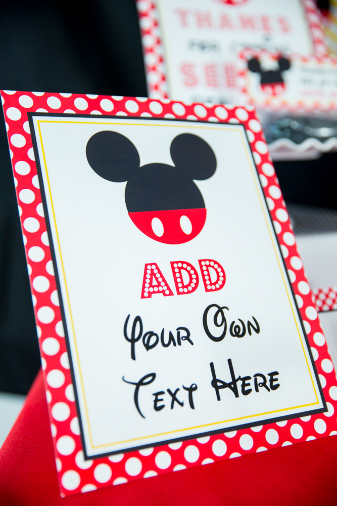 Printable Invitations Mickey Mouse