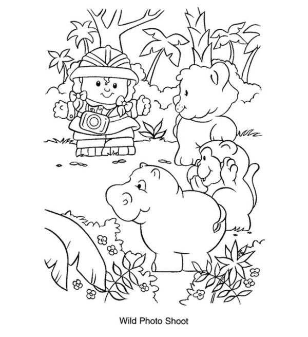 fisher price coloring pages # 2
