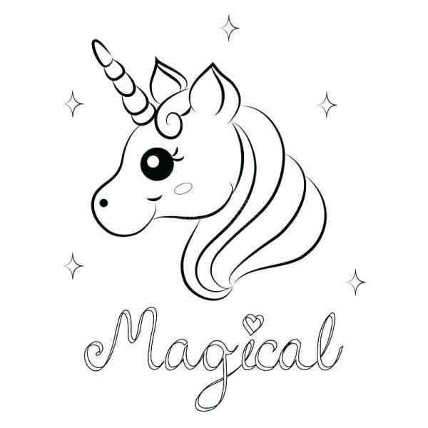 unicorn color pages # 21