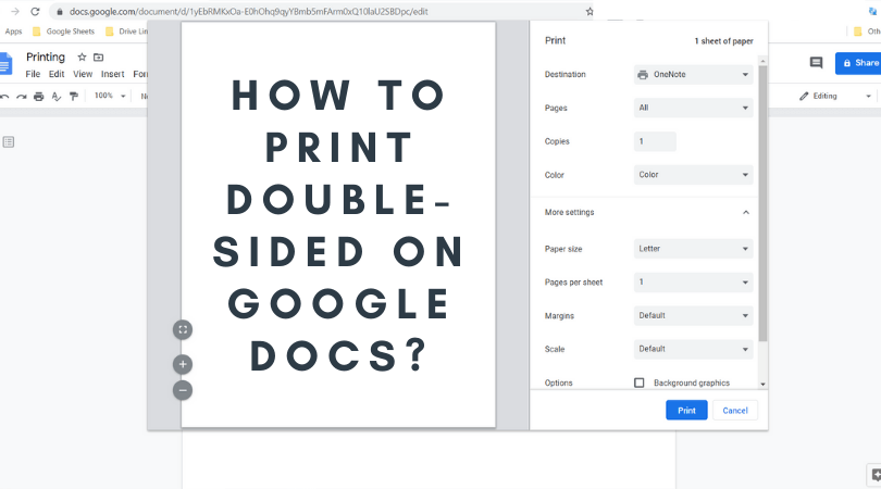How To Print Double Sided On Google Docs Fully Explained