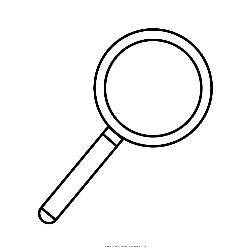 List of Magnifying Glass Coloring Page Pict - Best Pictures
