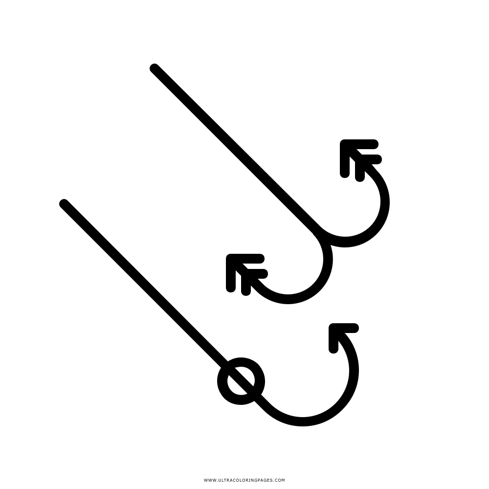 Fishing Hook Coloring Page Ultra Coloring Pages