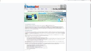 نرم افزار iBackupbot رایگان