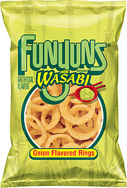 Funyuns Onion Flavored Rings Wasabi 7 75 Oz Nutrition