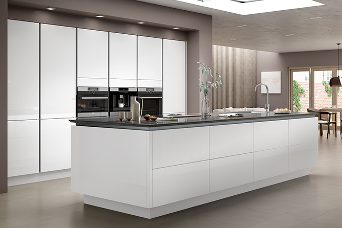 White And Wood Kitchen Ideas
