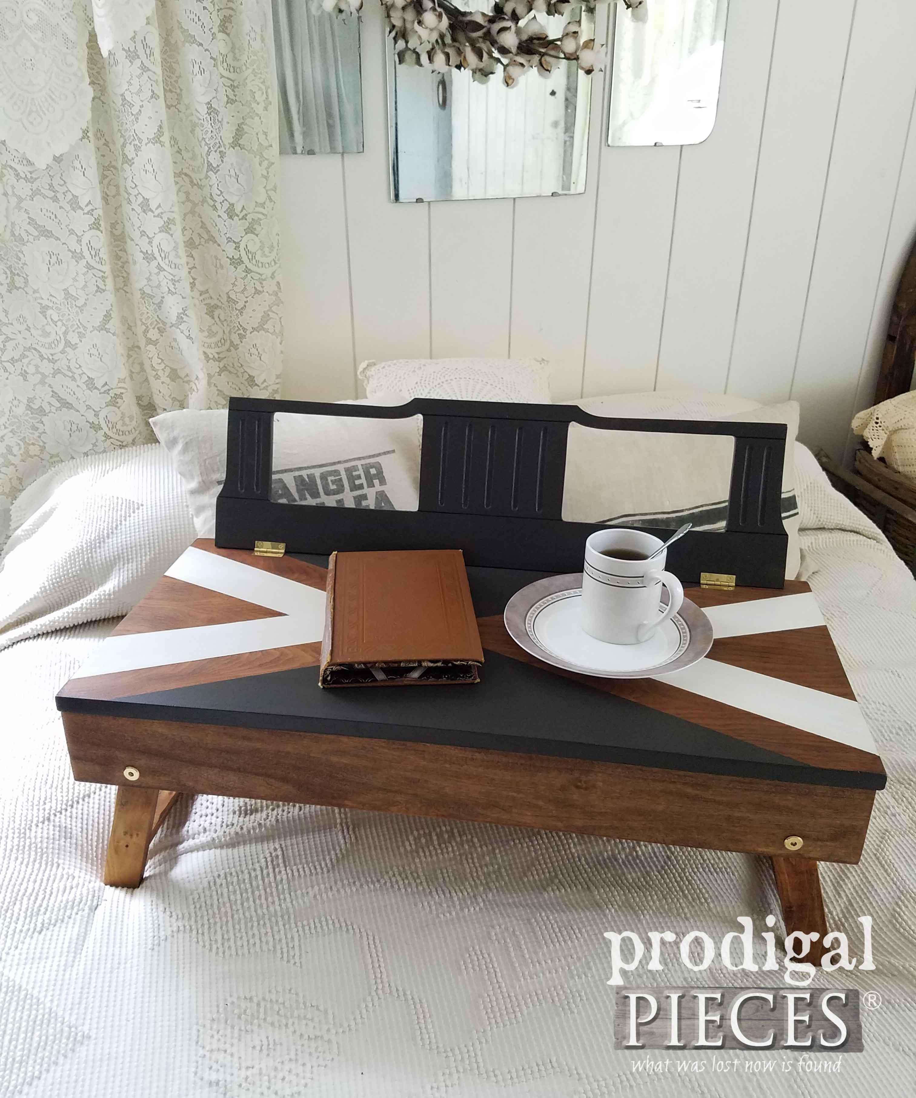 Repurposed Piano Bench Lap Desk Prodigal Pieces