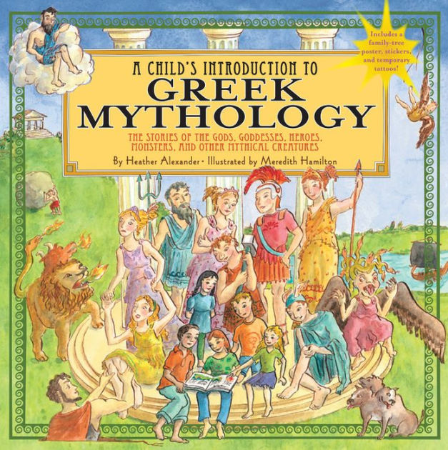 Child's Introduction to Greek Mythology: The Stories of ...