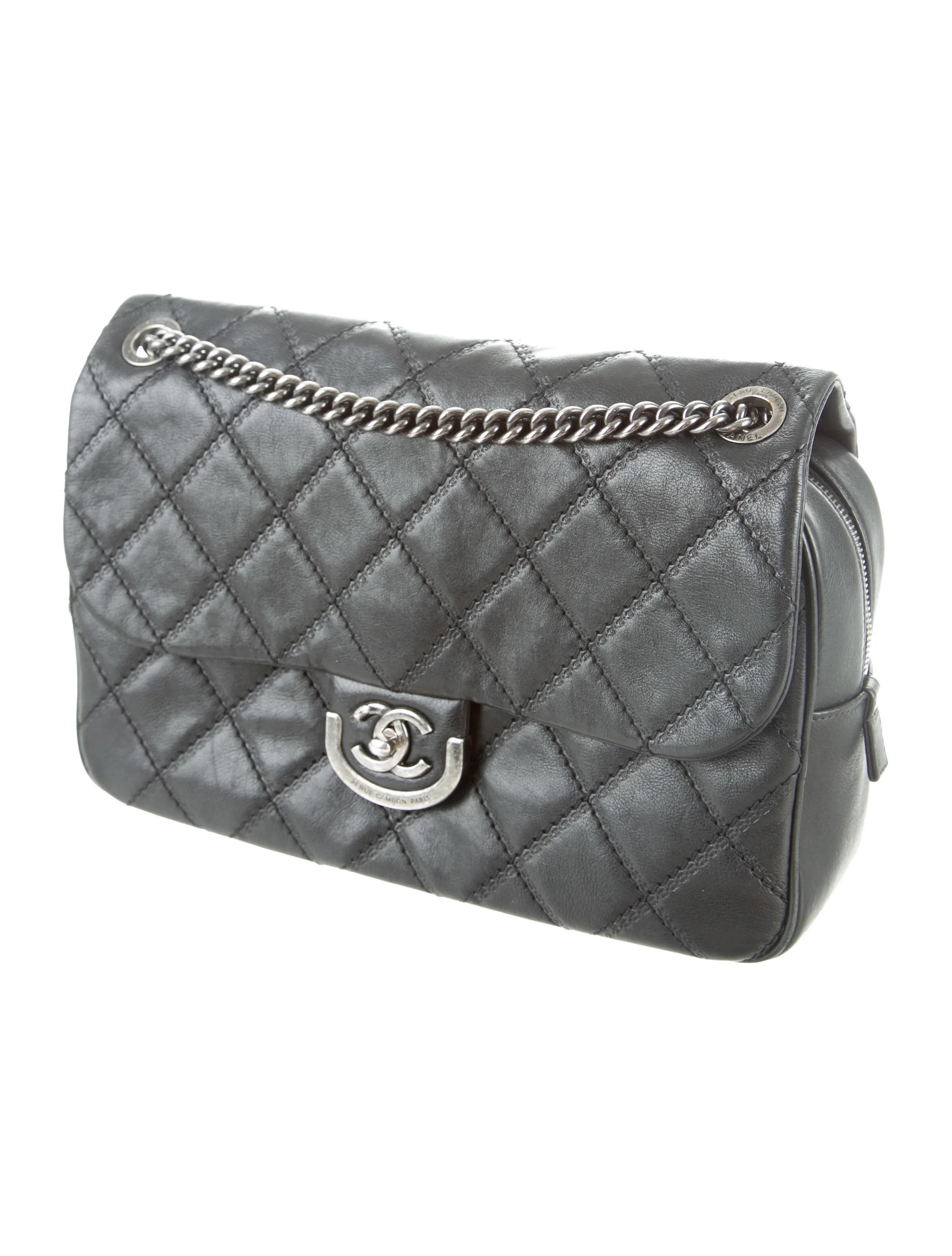 Chanel Paris-Edinburgh Coco Sporran Large Flap Bag ...