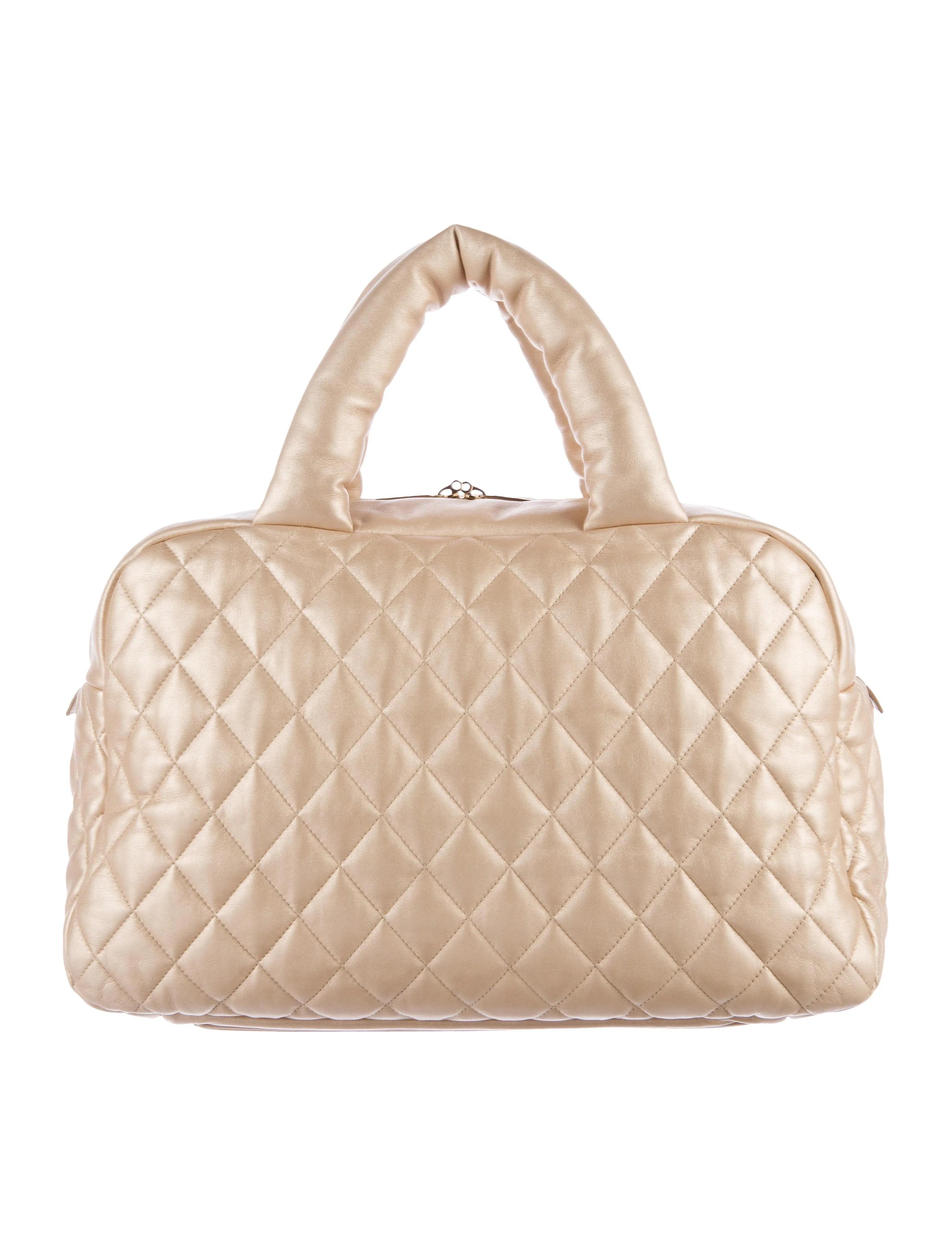 Chanel Coco Cocoon Bowler Bag - Handbags - CHA161600   The ...