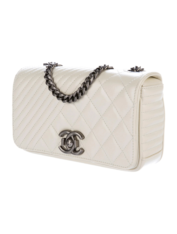 Chanel 2015 Small Coco Boy Flap Bag - Handbags - CHA176311 ...