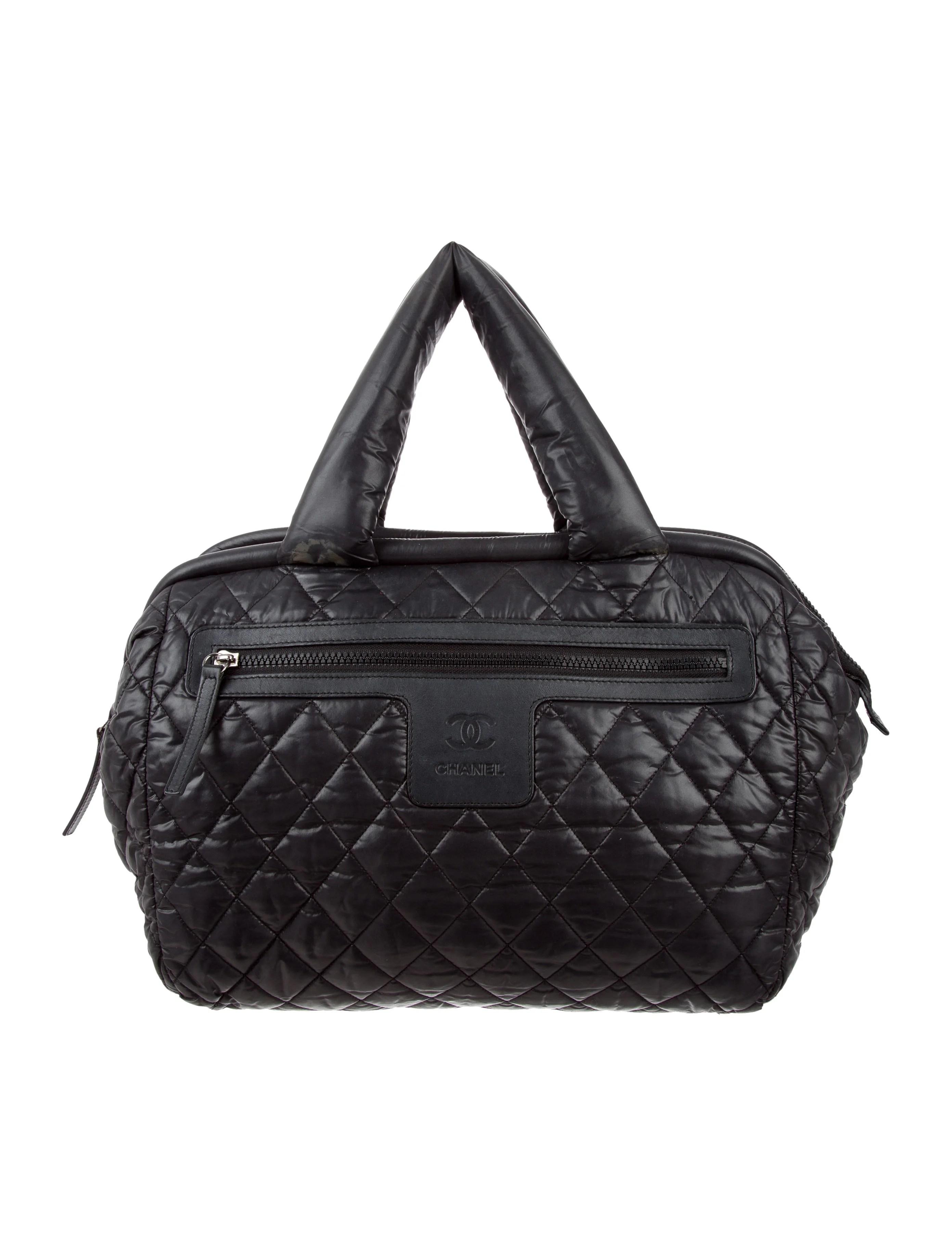 Chanel Coco Cocoon Bowler Bag - Handbags - CHA196779   The ...