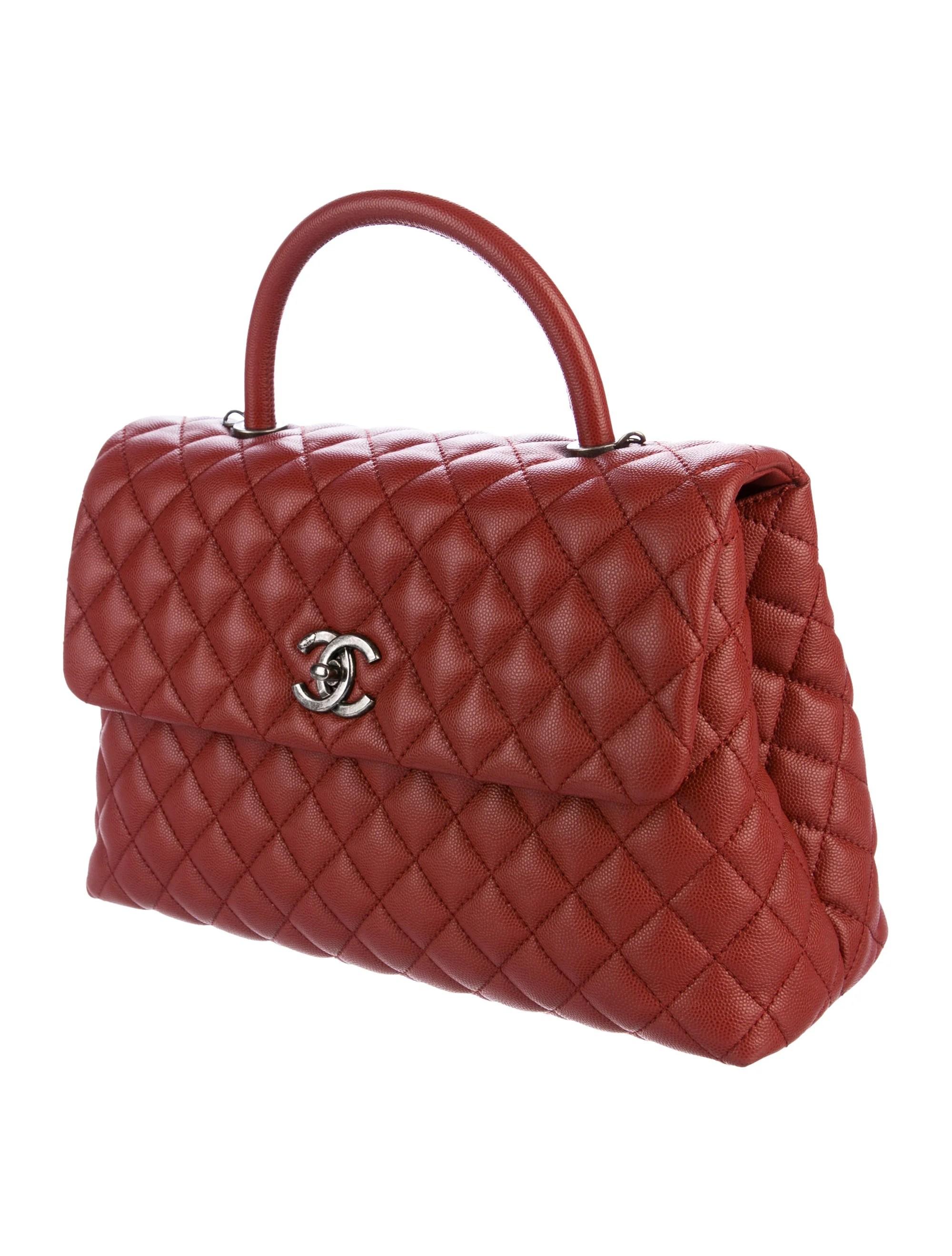 Chanel 2016 Medium Coco Handle Bag - Handbags - CHA202246 ...
