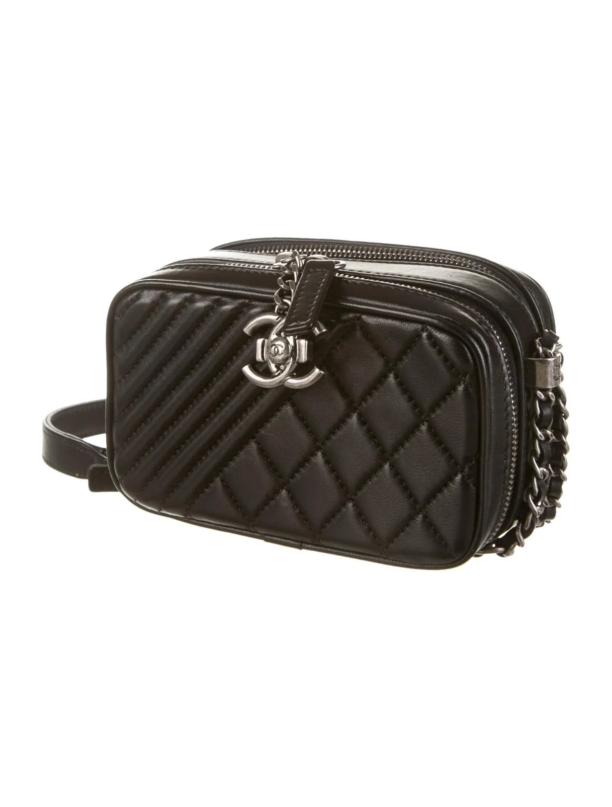 Chanel Coco Boy Mini Camera Crossbody Bag - Handbags ...