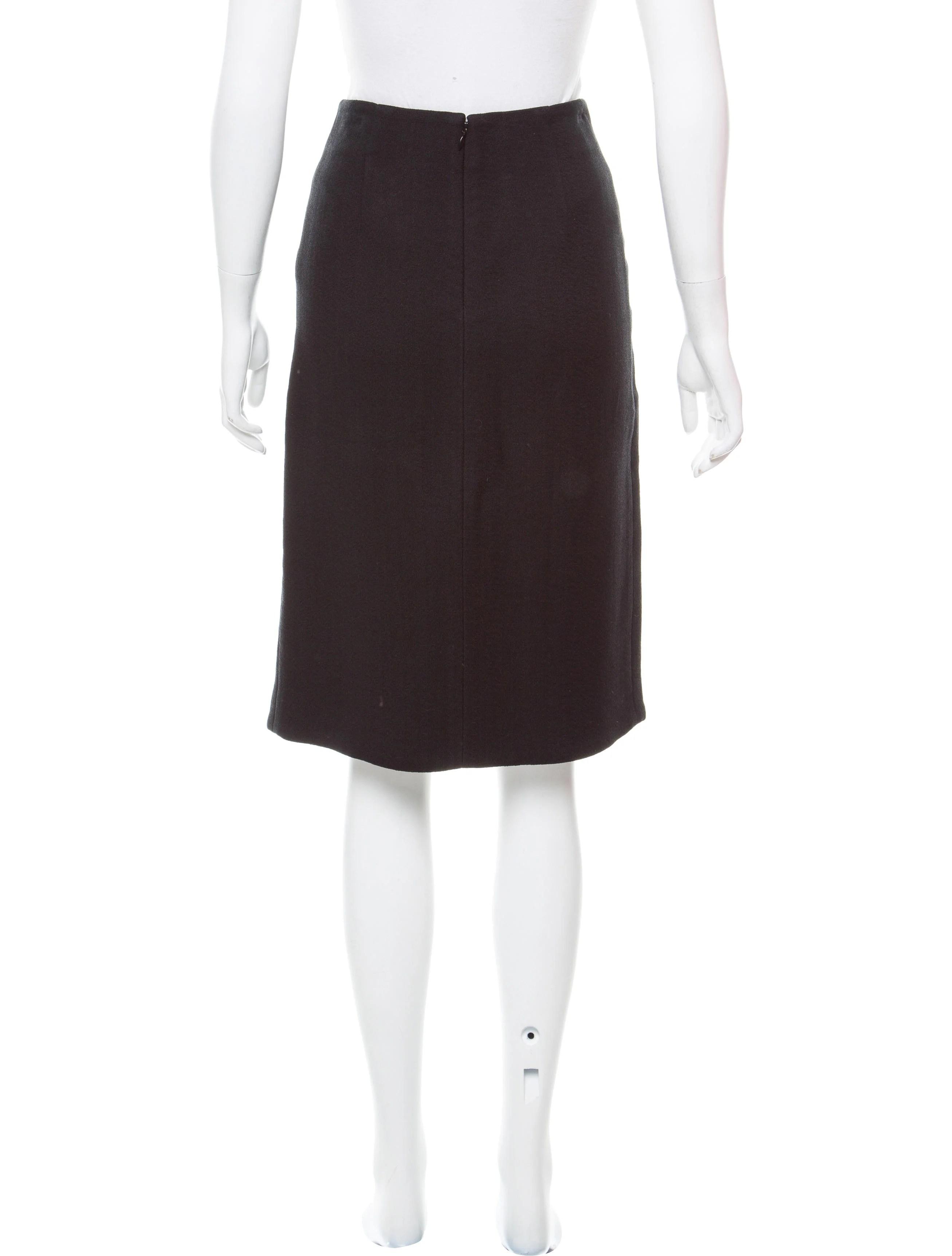 Proenza Schouler Turn Lock Knee-Length Skirt - Clothing ...