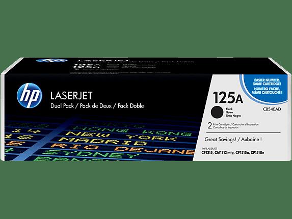 Hp 125a 2 Pack Black Original Laserjet Toner Cartridges