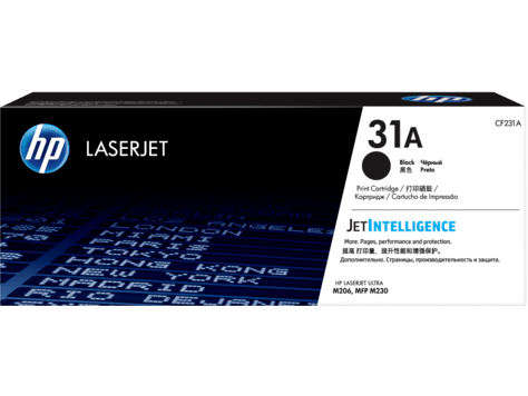 Hp 31a Black Original Laserjet Toner Cartridge Cf231a