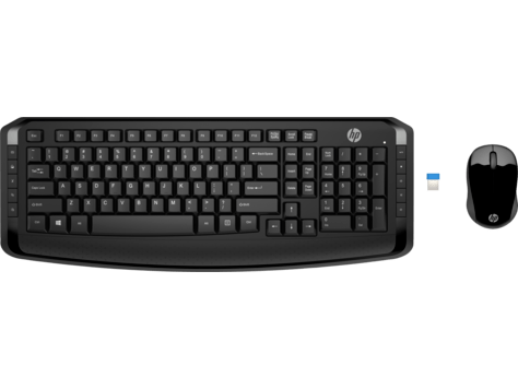 Hp Wireless Keyboard And Mouse 300 3ml04aa Hp 174 United