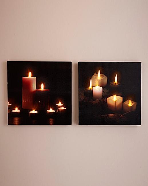 Canvas Led Lights