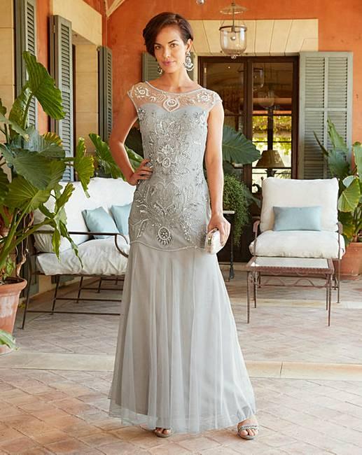 Joanna Hope Beaded Maxi Dress Marisota