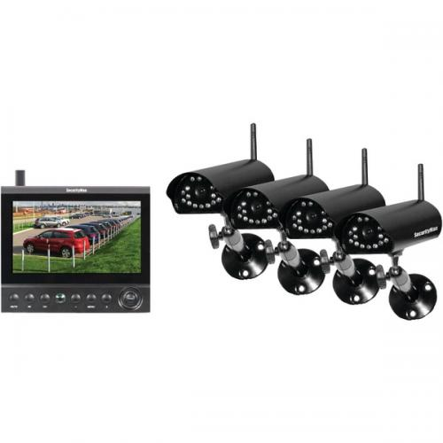 System Security Wireless Outdoor Monitor Camera