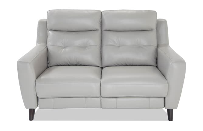 Loveseats   Bob s Discount Furniture Stratus Leather Power Reclining Loveseat