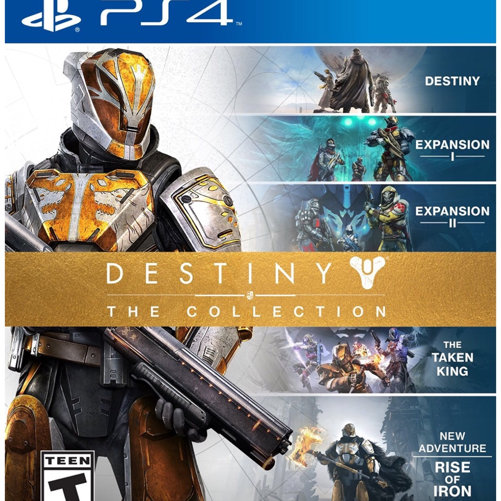 DESTINY: THE COLLECTION (PS4) FULL GAME DOWNLOAD CODE ...