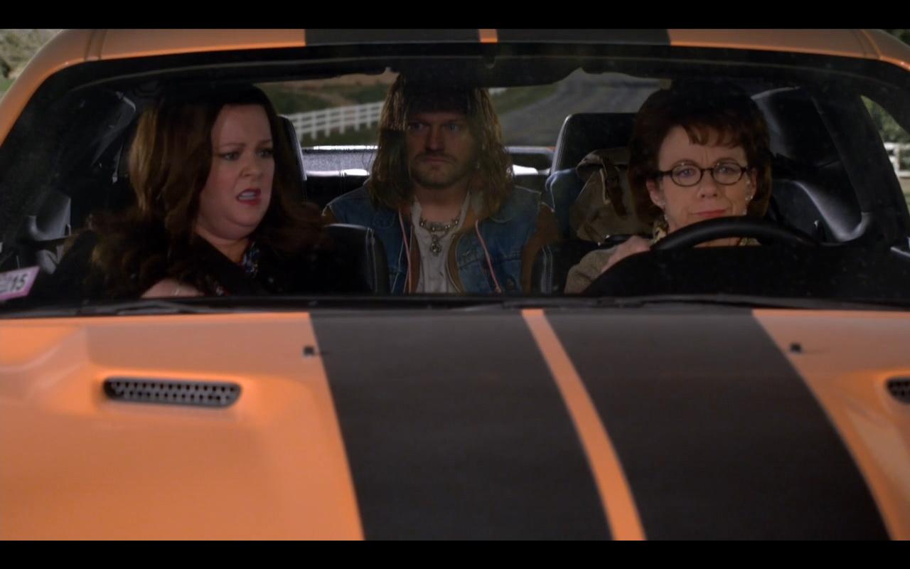 Orange Dodge Challenger Mike Amp Molly Tv Show