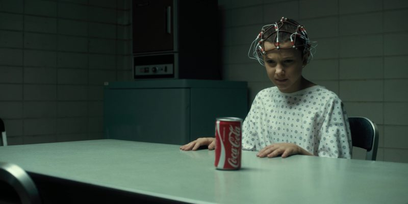 Coca Cola Can Used By Millie Bobby Brown Eleven In