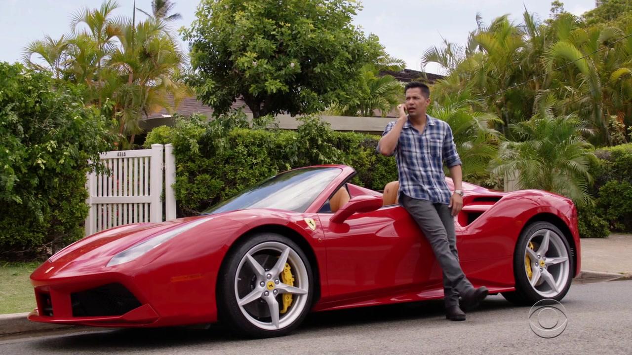 Ferrari Red Sports Car Used By Jay Hernandez Thomas