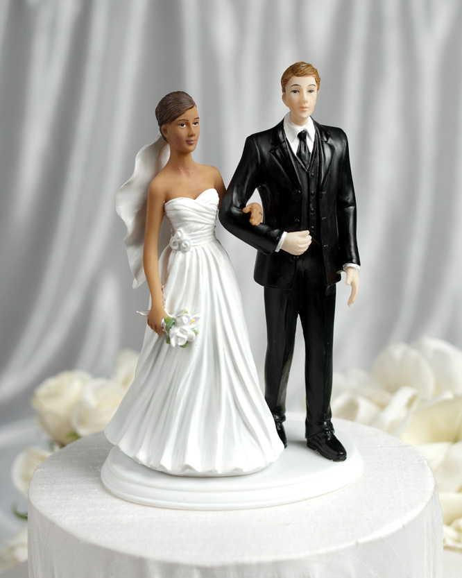 Unique African American Wedding Topper