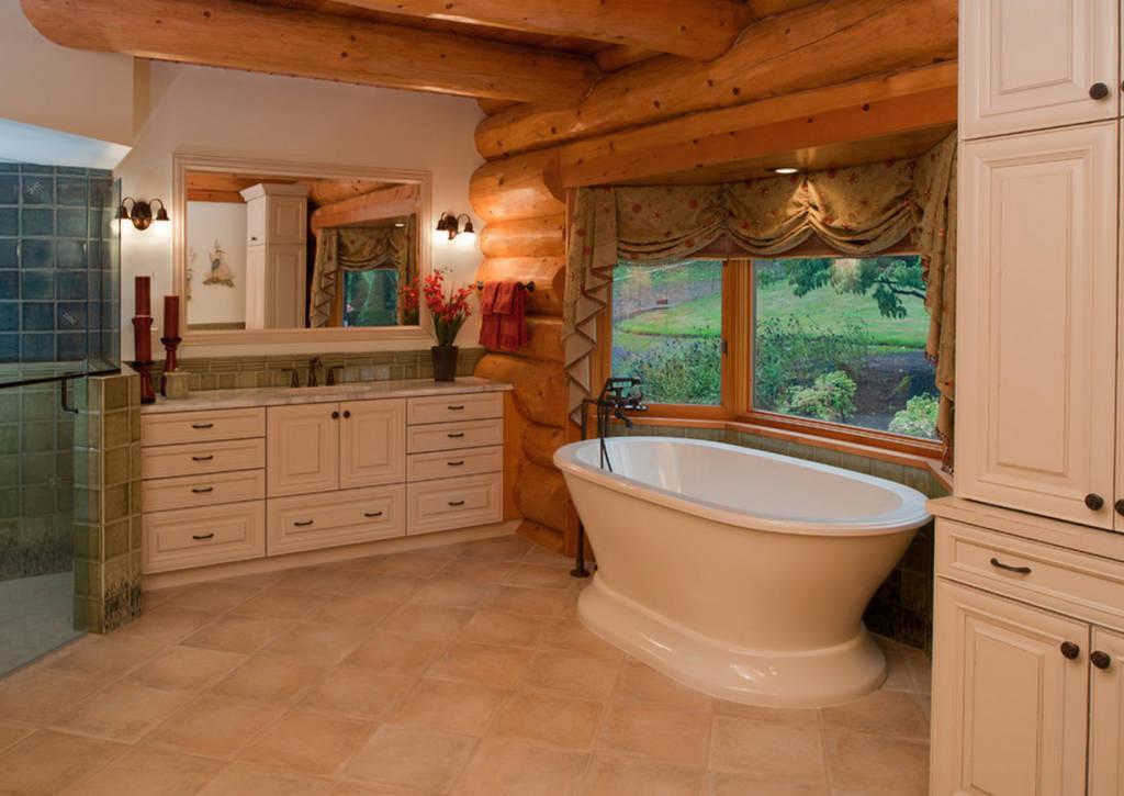 просто отделка комнат в деревянном доме фото медицины