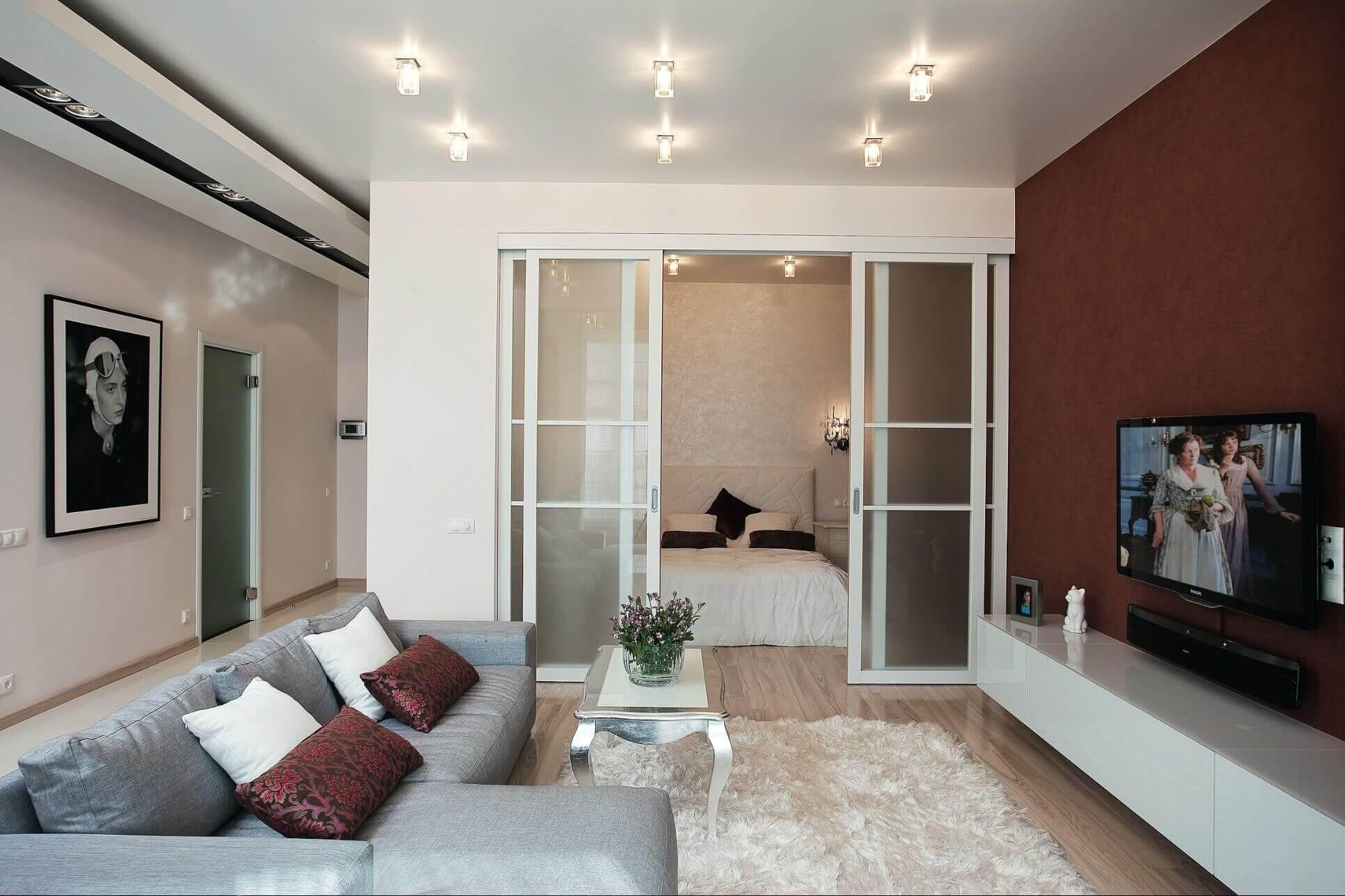 предлагаем использовать лучший цвет дверей для однокомнатной квартиры фото ним